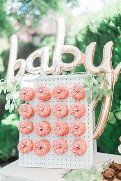 pink donut wall | Wedding & Party Ideas | 100 Layer Cake