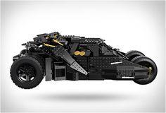 LEGO TUMBLER BATMOBILE - http://www.gadgets-magazine.com/lego-tumbler-batmobile/