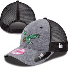Women s New Era Tri-blend Throwback Trucker 9FORTY Hat fac1948285