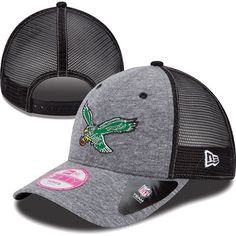 Be an #Eagles playmaker. Women's New Era Tri-blend Throwback Trucker 9FORTY Hat $21.99