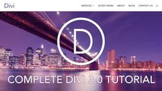 How to Make a Wordpress Website | NEW DIVI THEME 3.0