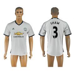 Manchester United 16-17 #Shaw 3 3 trøje Kort ærmer,208,58KR,shirtshopservice@gmail.com