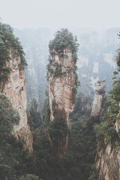 Zhangjiejia National Forest Park Art Print