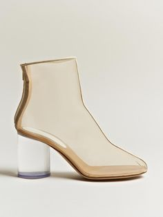 Get those pretty socks out!  - (B. A. S.)  Martin Margiela women's Sheer Trunk Boots