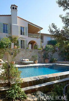 Riviera Style Home Backyard Pool Designsbackyard Poolsgarden