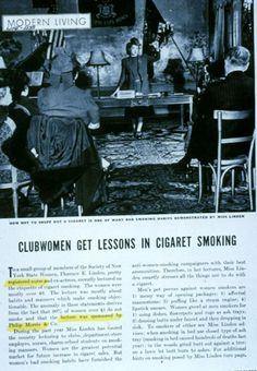 """Torches of Freedom"": Women and Smoking Propaganda (click thru for analysis)"