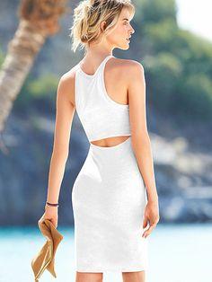 SPRING/SUMMER STYLE: cutout dress