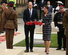 Prince William and Catherine Duchess of Cambridge visit Manchester