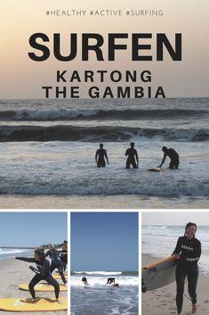 Ik had nog nooit deze sport beoefend maar ging graag de uitdaging aan!! Surfen in Kartong is echt gaaf! Al is dit nog geen surfersheaven voor mij was het een goede start!