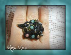 ring soutache  https://www.facebook.com/MagicaMoon