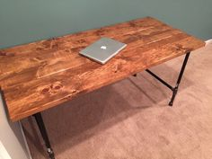 DIY pipe desk                                                                                                                                                                                 More