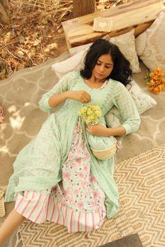 Mint Poppy - Poppy Dress with Mint Check Jacket Maxi Dress With Jacket, Cape Dress, Kurta Cotton, Cotton Tunics, Poppy Dress, Maternity Dresses, Midi Dresses, Holiday Dresses, Indian Outfits
