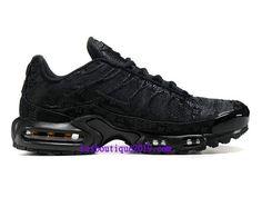 cheaper 1361f 4a51d Nike Air Max Plus Chaussures Basket Prix 2018 Pas Cher Pour Homme Noir  604133-A002