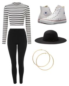 """Untitled #26"" by alaninaissant on Polyvore featuring Miss Selfridge, Topshop and Converse"