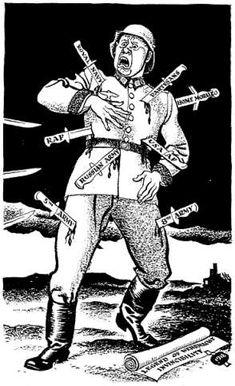 RAW WW2 HISTORY REDEFINED: World War Two In Cartoons By ILLINGWORTH