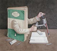book patrol: The Biblio-Surrealism of Jonathan Wolstenholme