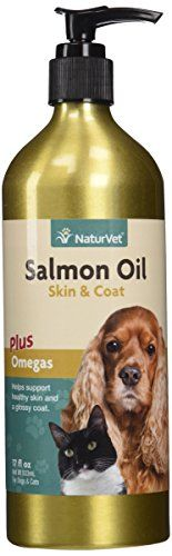 NATURVET 978181 Salmon Oil Unscented for Dog and Cat, 17 oz *** More info could be found at the image url.