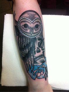 Dan Hartley | Cock a Snook Tattoo