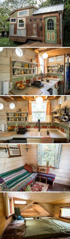 The Cedar Haven tiny house (200 sq ft)