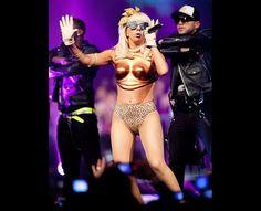 Lady Gaga (2009)  At The Dome 49 at the TUI-Arena, Hanover, Germany