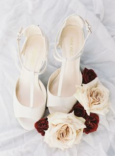 White Nine West stilettos: An Unexpected Color Palette Makes for the Most Stunning Summer Affair