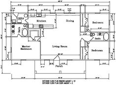 Plan 2596DH: Cozy 2 Bed Cottage House Plan   House plans, Cottages ...