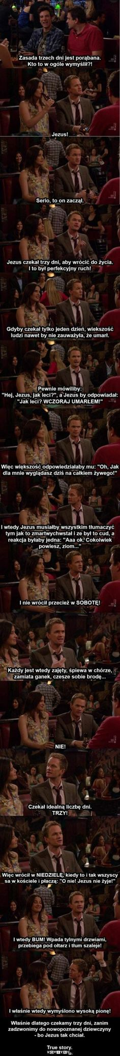 Barney Stinson on the 3 day rule. This is why HIMYM is one of the greatest shows of all time. How I Met Your Mother, Funny Stories, True Stories, 3 Day Rule, Haha Funny, Funny Stuff, Freaking Hilarious, Funny Things, Random Stuff