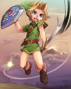 Young Warrior, Link