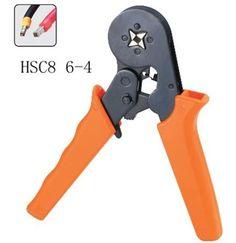 MINI-TYPE SELF-ADJUSTABLE CRIMPING PLIER 0.25-6mm2 terminals crimping tools multi tool pliers HSC8 6-4