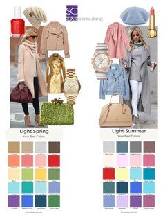 """""""Verschil tussen de lichte lente en lichte zomer."""" By Margriet Roorda-Faber, Style Consulting."""