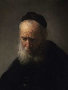 Rembrandt Van Rijn - Head of an Old Man, 1631