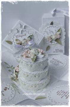 ScrappEllen: Bryllupskort