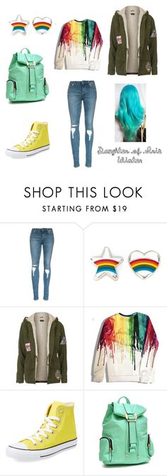 """""""Daughter of Iris, winter outfit"""" by julia-a-grossman on Polyvore featuring Anya Hindmarch, Topshop, Converse, Dasein, women's clothing, women's fashion, women, female, woman and misses"""