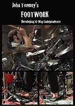 John Toomey's Footwork (Developing 6-Way Independence) (DVD)