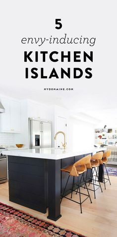 Fall in love with these kitchen islands