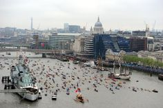 Thames River Pageant - Royal Diamond Jubilee Celebrations #boating