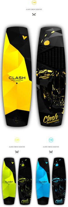 "☠ Clash ""Reincarnation"" 2k12 Alvaro Onieva Signature by Digimental Studio , via Behance"