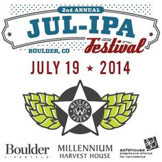 Hop lovers unite! JUL-IPA is on 7.19.14 #Boulder #Colorado City Star Revolver IPA & Dead or Alive DIPA will be on tap http://www.thewestendtavern.com/beer-and-bourbon/jul-ipa/