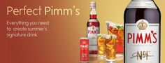 Pimm'S Yum Cocktails, Drinks, Ol, Bottle, Products, Craft Cocktails, Drinking, Beverages, Flask