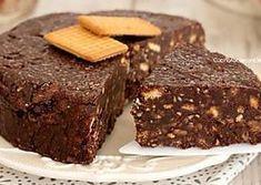Torta salame di cioccolato senza cottura e senza uova