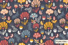 Jos loves this pattern from Elizabeth Victoria Designs - a Surface Pattern Design Studio