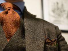 tweed-puku - tweed suit