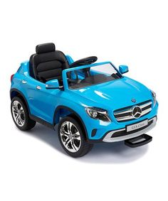 This Blue Mercedes GLA 12V Ride-On is perfect! #zulilyfinds