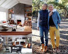 Celeb Home of Ellen & Portia - Hollywood Hills, CA