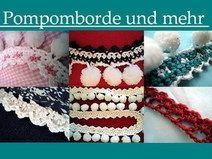 """Häkel - E-Book """"Pomponborde und mehr"""""""