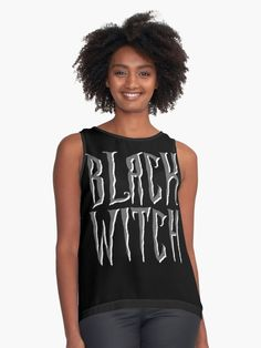Black witch, gray and white magical, fantasy font v2 -  Also Available as T-Shirts & Hoodies, Men's Apparels, Women's Apparels, Stickers, iPhone Cases, Samsung Galaxy Cases, Posters, Home Decors, Tote Bags, Pouches, Prints, Cards, Mini Skirts, Scarves, iPad Cases, Laptop Skins, Drawstring Bags, Laptop Sleeves, and Stationeries #style #fashion #clothing #clothes #girls #tanks #tops