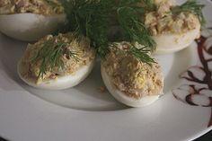 Œuf mimosa fenouil / thon - Les joyaux de sherazade : Recettes de cuisine, faciles et rapides