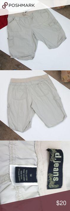 Mens Merona Medium Khaki Club Shorts NWOT D13
