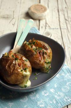 Jacket potatoes con bacon e langherino - IlGattoGhiotto.it
