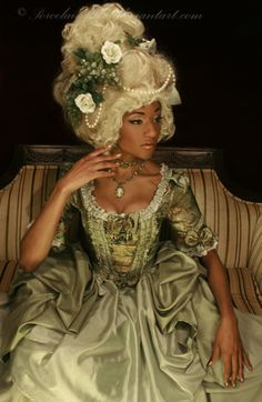 Not really Lolita but we all know that Marie Antoinette inspires us :) Rococo Fashion, Lolita Fashion, Visual Kei, Corsets, Harajuku, Lolita Mode, Black Royalty, Photo Portrait, American Gothic